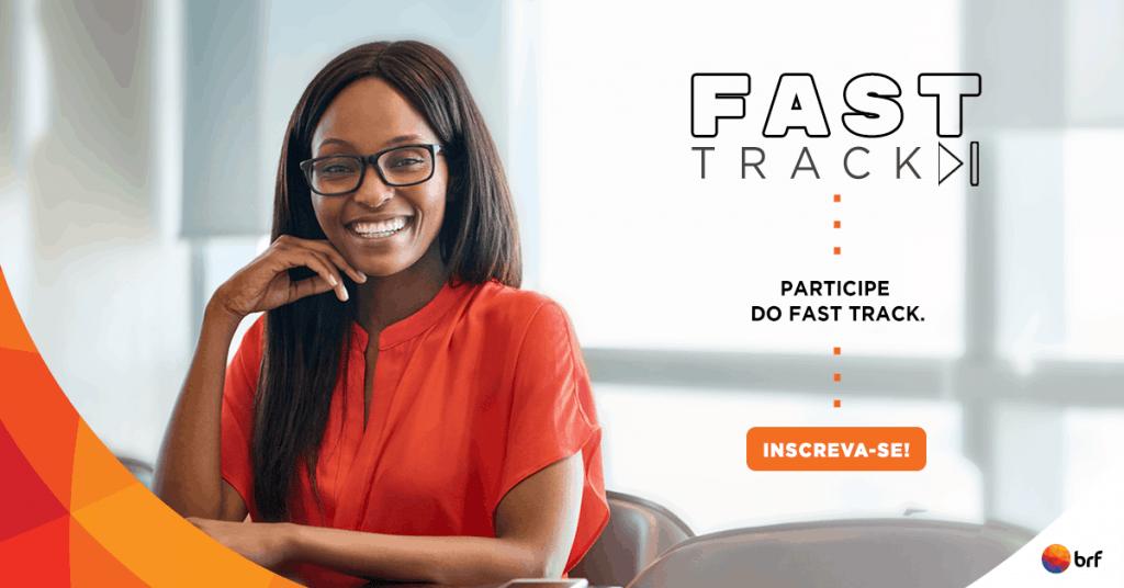 banner de divulgação fast track brf 2019