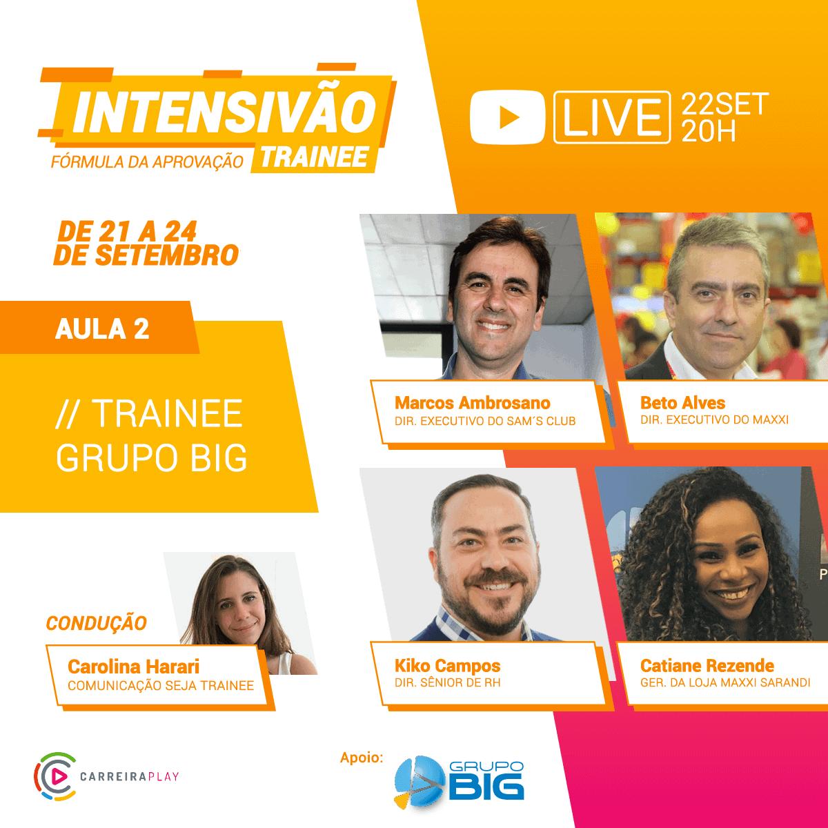 Live Intensivão 22/09/2020