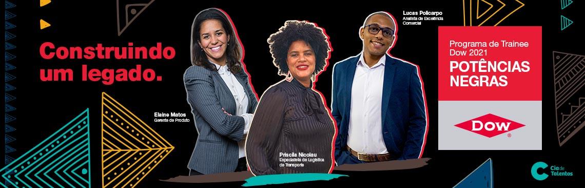 Programa de Trainee Dow 2021 - Potências Negras.